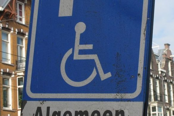 Parkingsign in Amsterdam