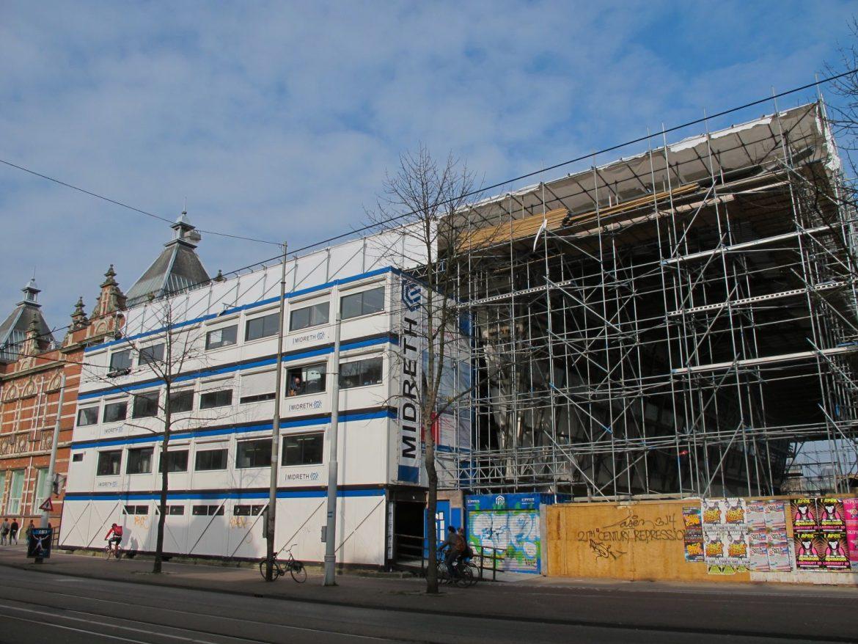 Construction of Stedelijk Museum