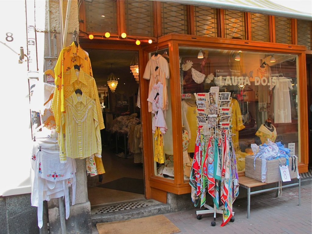 Vintage shop at Nine Streets