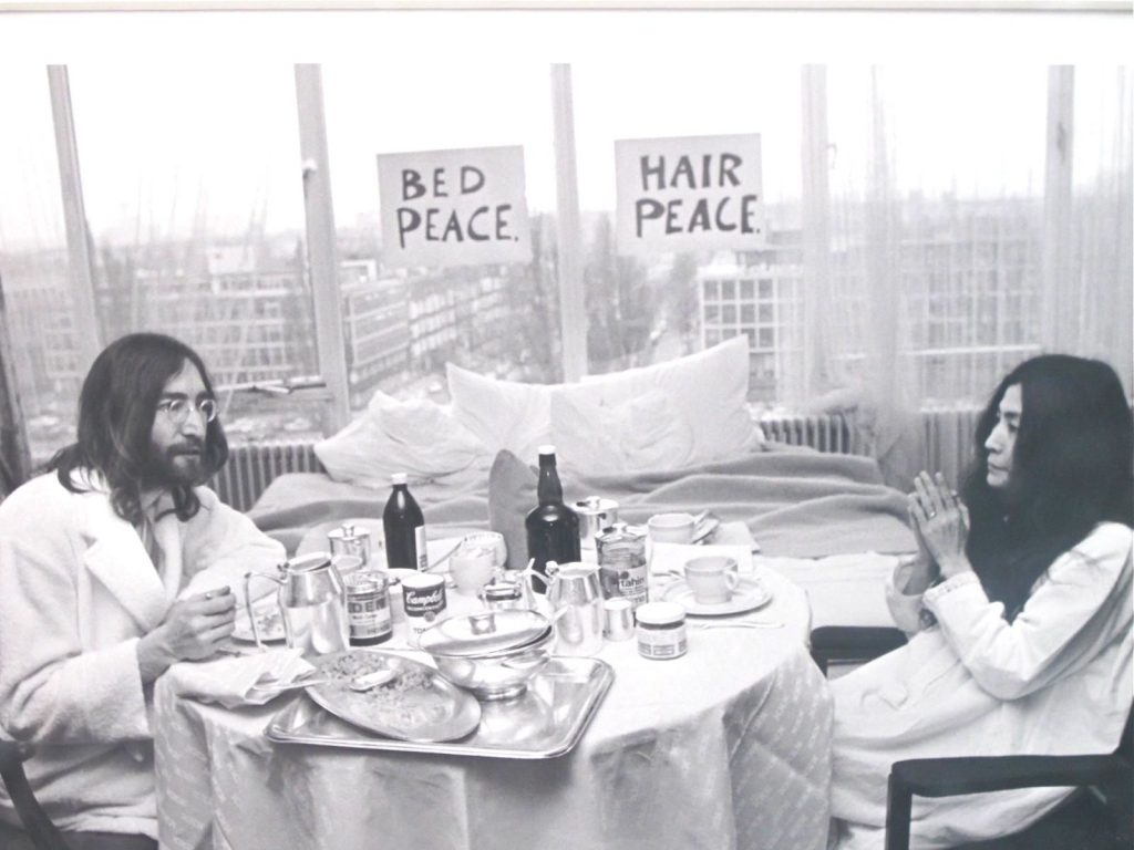 John & Yoko at the Amsterdam Hilton