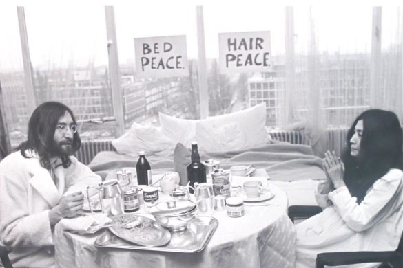 John & Yoko at the Amsterdam Hilton