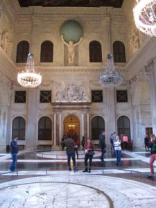 The Citizen Hall of the Amsterdam Royal Palace