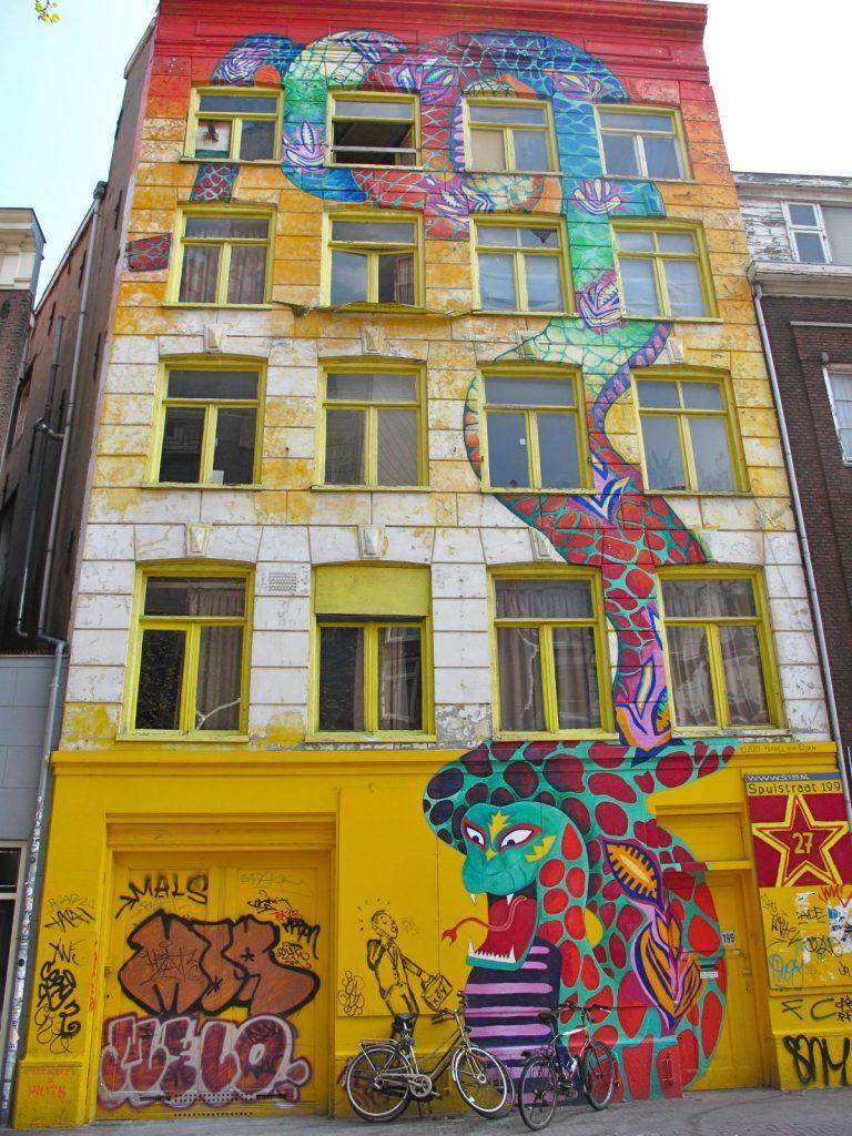 Slangenpand Amsterdam