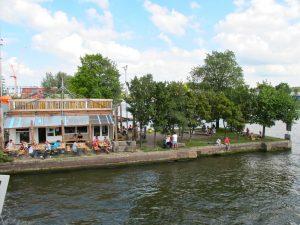 Very hip Hannekes Boom, bar and restaurant