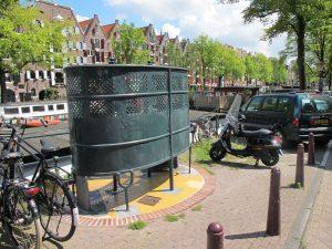 Public toilet 'Krul' on Brouwersgracht Amsterdam