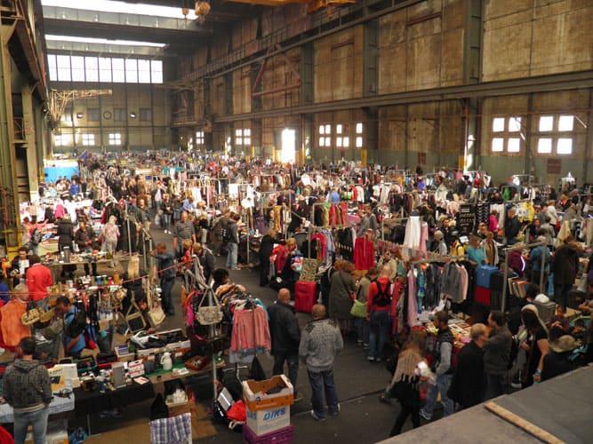 IJ-hallen for second hand shopping Amsterdam
