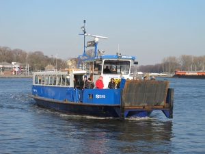 The 'IJveer', the ferry that takes you across the IJ-water from behind Central Station.
