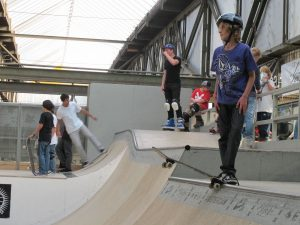 Skatepark at NDSM