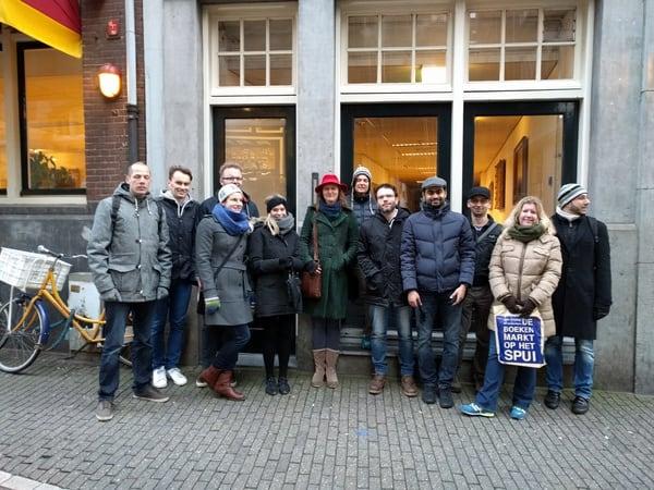Amsterdam walking tour centre
