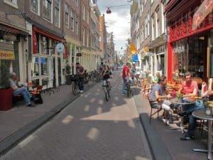 Jordaan Quarter in Amsterdam