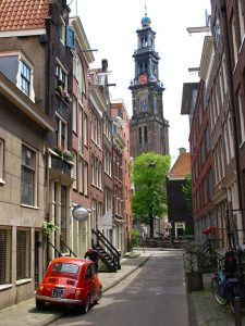 Amsterdam Jordaan Quarter