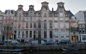 Cromhout canal house, Amsterdam.