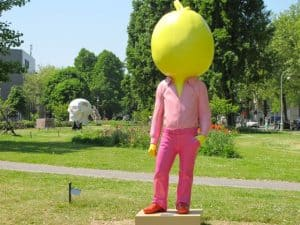 From May 22 until September 22, 2013, the International Sculpture Route Amsterdam, ArtZuid can be visited.