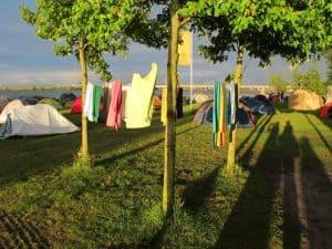 Amsterdam camping site Zeeburg