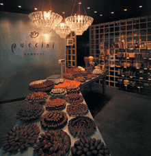 Puccini Bomboni, chocolate shop in amsterdam