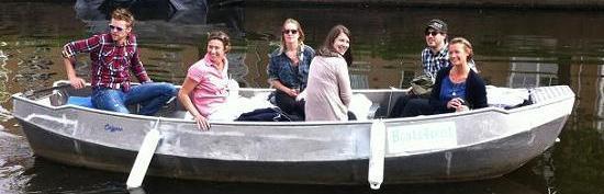 private boat rental Amsterdam