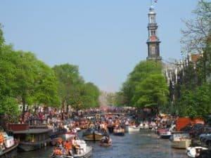 King's Day boat rental