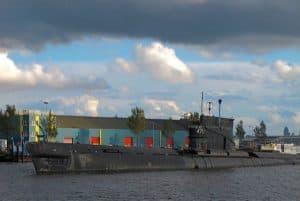 submarine at NDSM