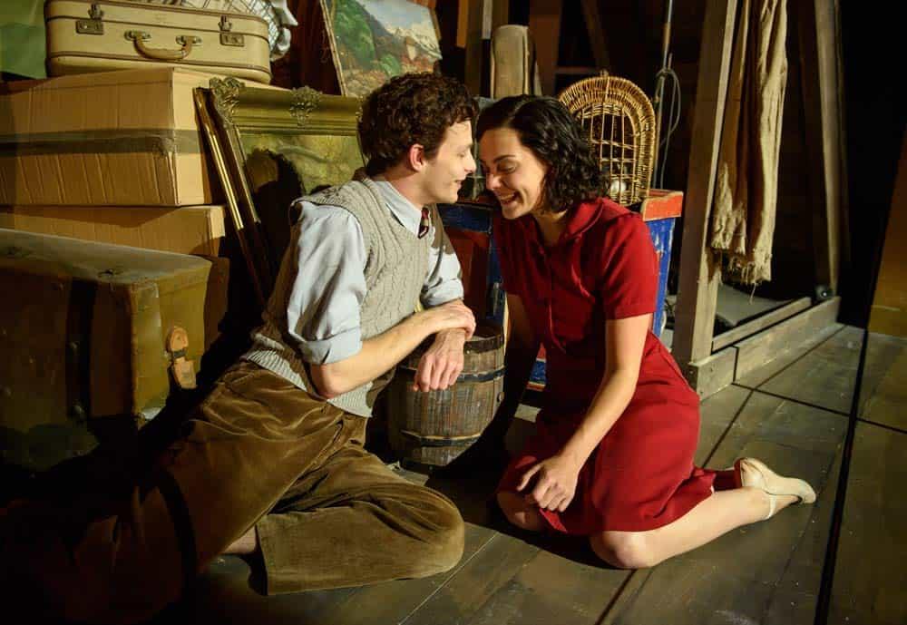 Anne Frank falls in love