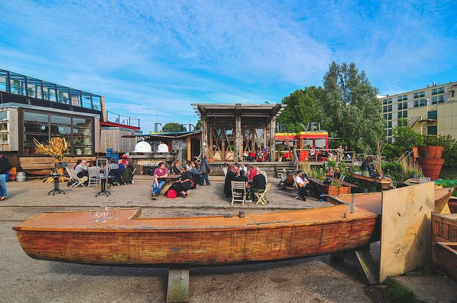 Eco-friendly Amsterdam: De Ceuvel