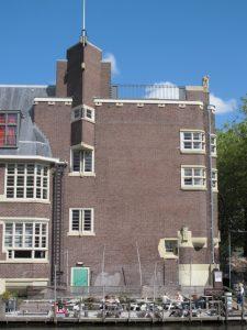 Het Sieraad, Amsterdam School style.