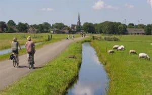 Cycling routes in Holland